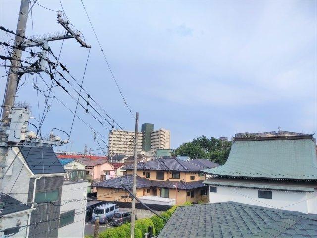 物件からの眺望です。江戸川の景色を一望できます。