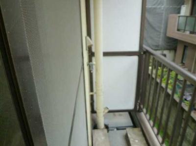 【バルコニー】フローラハイム バストイレ別 女性限定 収納 南向き