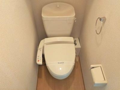 温水洗浄便座付き 嬉しい風呂トイレ別!