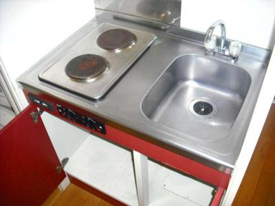 【キッチン】レオパレスマ・メゾンA