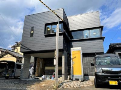 【外観】☆新築☆佐々町羽須和免☆デザイナーズ住宅