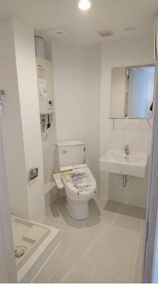 【トイレ】SOU若林 独立洗面台 浴室乾燥機 駅近 駐輪場