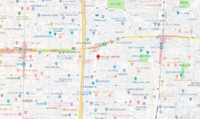 【地図】ジオナ松屋町
