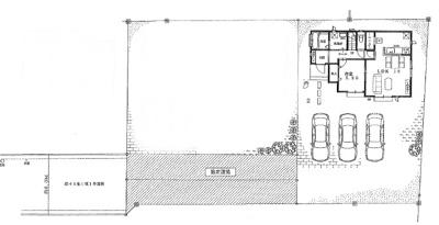 【区画図】ハートフルタウン宇都宮市若松原8期 新築一戸建て