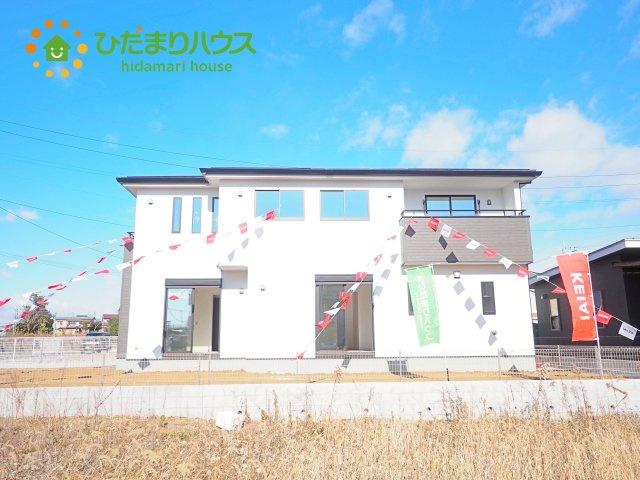 【外観】下妻市本城町1期 新築戸建