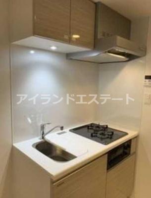 【キッチン】クレイシア三軒茶屋 敷金0 ネット無料 築浅 ペット飼育可