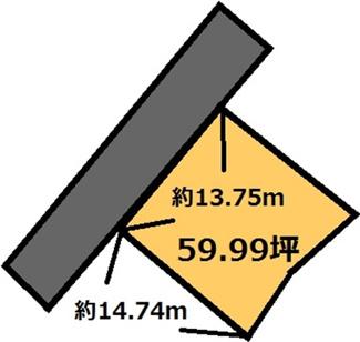 【土地図】栗又四ケ 220万円
