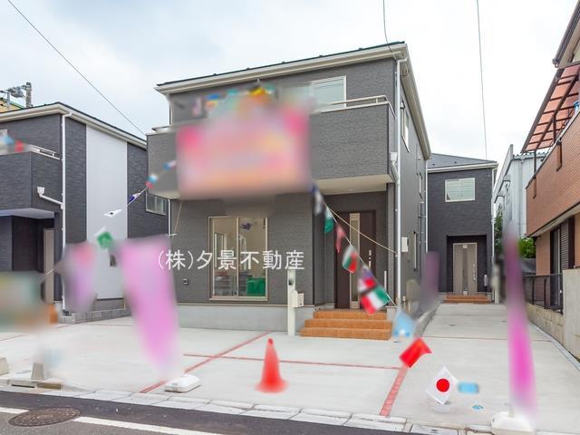 【外観】川口市弥平2丁目18-14(4号棟)新築一戸建てクレイドルガーデン