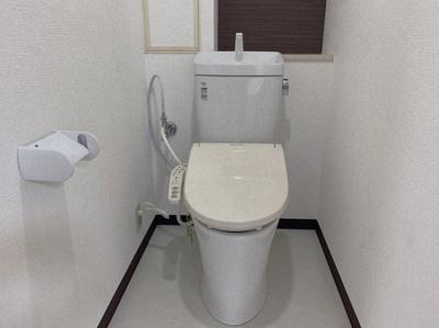 トイレも清潔感があってとてもきれいです。