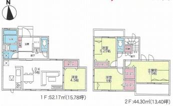 大和高田市有井 新築(全2棟)1号棟