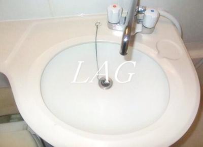 洗面設備です。