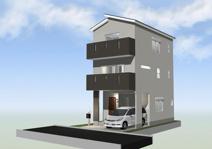 新座市野火止8丁目 建築条件付き売地 A区画の画像