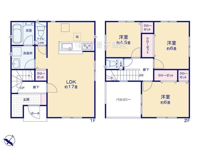 川口市大字安行吉蔵333-5(2号棟)新築一戸建てクレイドルガーデン