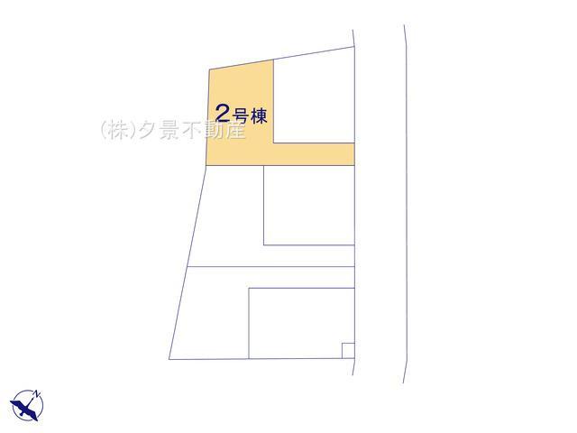 【区画図】川口市大字安行吉蔵333-5(2号棟)新築一戸建てクレイドルガーデン