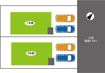 神戸市北区ひよどり台1丁目第2 新築一戸建て 2021/8/9現地撮影