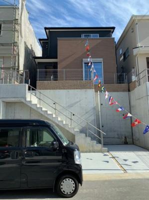 【外観】神戸市垂水区名谷町第7 新築一戸建て 5区画分譲