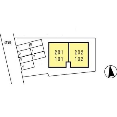 【区画図】セジュール赤坂