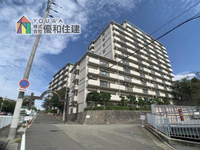 【外観】メゾンドール明石山ノ手台B棟