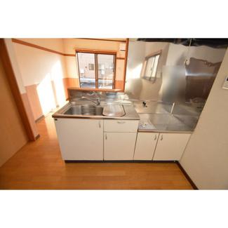 【キッチン】菊三ハイツ2号棟-1