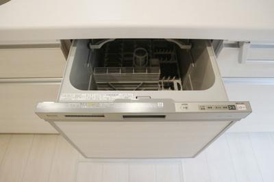 環境にもママの手にも優しい食洗機付き