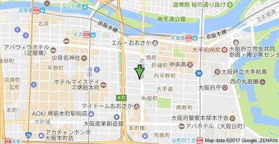 【地図】エイペックス大手通