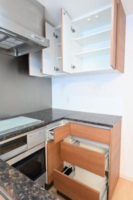 【キッチン】オープンレジデンス高輪台
