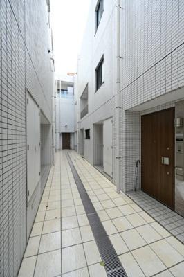 【エントランス】オープンレジデンス高輪台