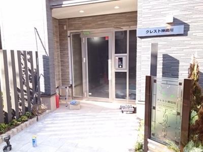 【エントランス】クレスト神崎川