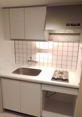 【キッチン】スクエアハウス新中野