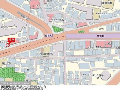 【地図】スカイコート新宿曙橋第2