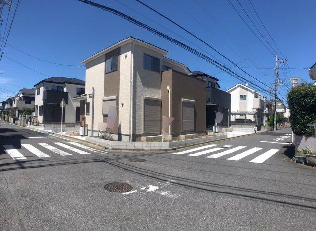 【前面道路含む現地写真】松戸市第11八ヶ崎 全4棟