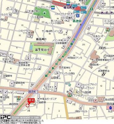 【地図】サンテミリオン目白西