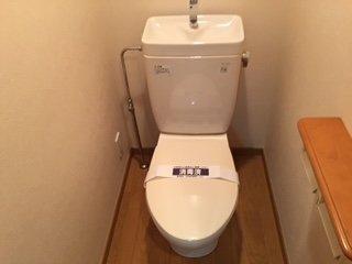 【トイレ】ルーブル中馬込 壱番館