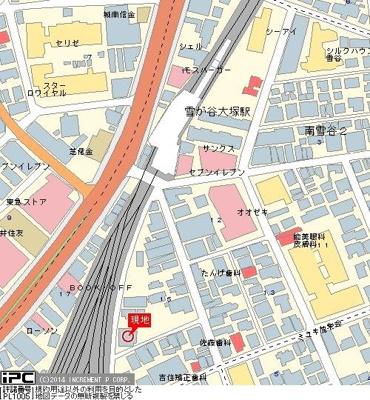 【地図】菱和パレス田園調布東