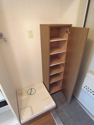 室内洗濯機置場・靴入