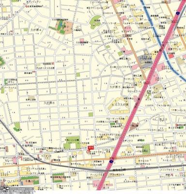 【地図】サンテミリオン千鳥町
