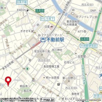 【地図】マーキュリーパレス
