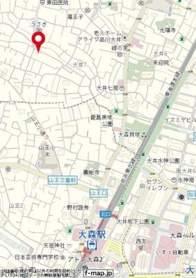 【地図】ウィステリアパッセ