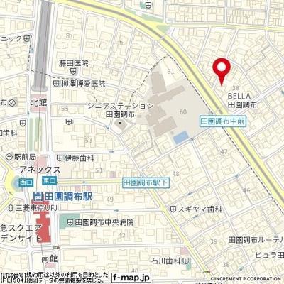 【地図】メゾン・ド・ポルトレー