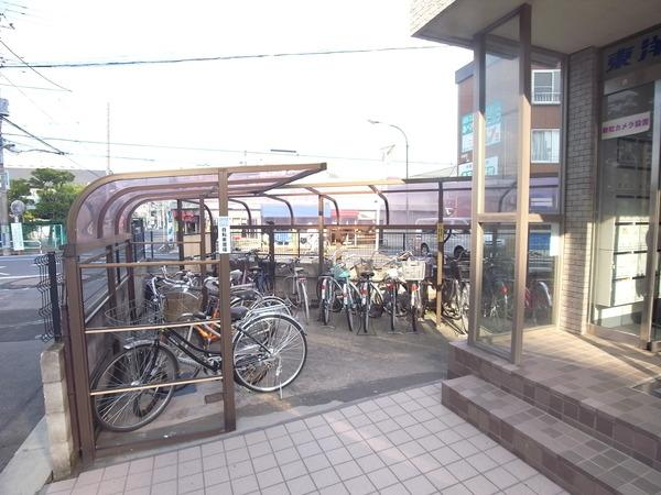 【駐輪場】東洋シーサイドハイム