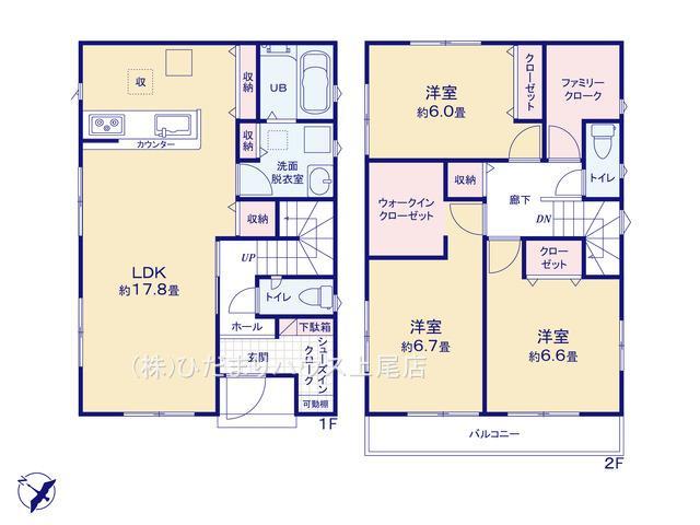 上尾市泉台 21-1期 新築一戸建て リナージュ 01