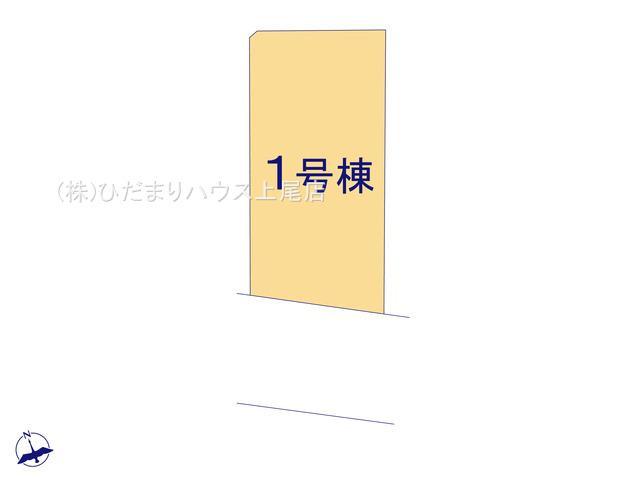 【区画図】上尾市泉台 21-1期 新築一戸建て リナージュ 01