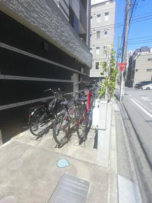 自転車置場です。