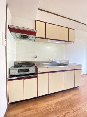 【キッチン】リバーパレス中西