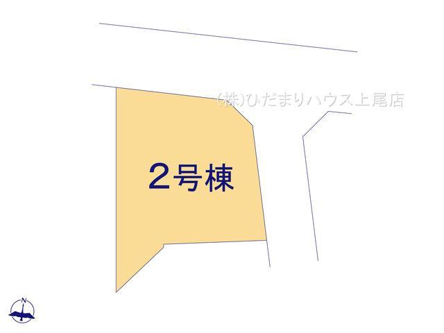 【区画図】伊奈町本町 新築一戸建て リーブルガーデン 02