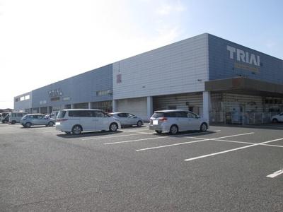 スーパーセンタートライアルまで1200m