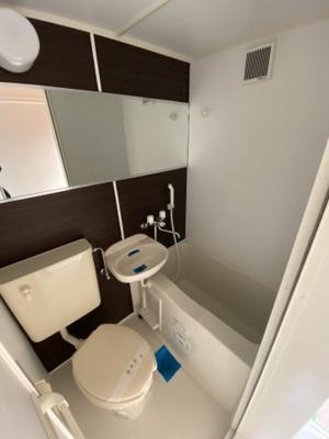 【浴室】ユナイト石川町フレデリック