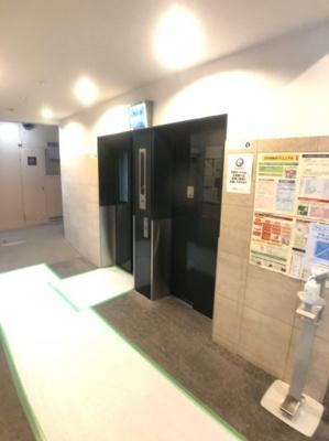 【ロビー】新大阪グランドハイツ一号棟