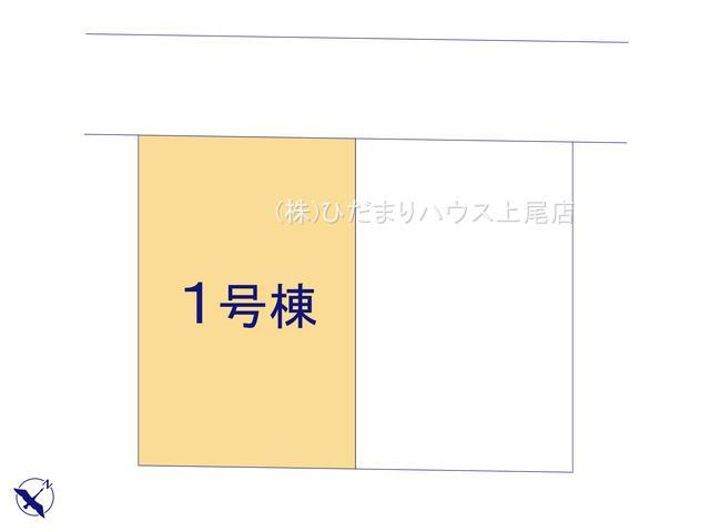 【区画図】西区土屋 5期 新築一戸建て グラファーレ 01