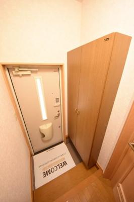【玄関】プレジデントタカヤ6 B棟